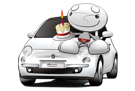 Fiat 500 want you edition