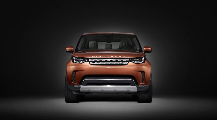 Land Rover Discovery 2017 teaser